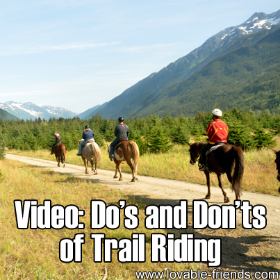 Video - Do's & Don'ts of Trail Riding